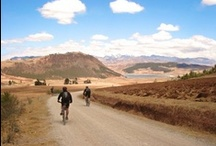 Peru / A collection of pins from Saddle Skedaddle's cycling holidays in Peru