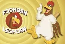 FOGHORN LEGHORN / by MRS. J.
