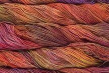 Yarn / shades of yarn ... types of yarn / by Meredith Newman Debens