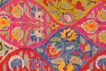 Fabrics and patterns....