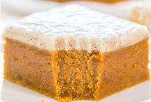 FOOD~ Pumpkin Recipes / Pumpkin desserts (and more)