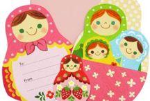Äitienpäiväkortit ja lahjat