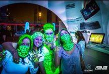 Electric Run 2014 / All'Electric Run abbiamo fatto risplendere insieme a voi la notte di Torino!
