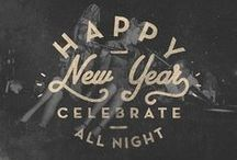 New Year, New Beginning / Time to celebrate the fabulous year we've had, and bring in an even better one! Cheers to 2015!