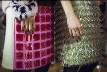 Autumn Winter 2015 / Horror Vacui vs modernism. Heritage vs techy. the billowing Bourgeoisie vs the restrained rectilinear. For autumn/winter 2015 katrantzou observes the inverse relationship between the Horror Vacui art movement and reactionary modernism.