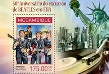 Stamps - Famous Actors & Singers / by Blanca de Guzman