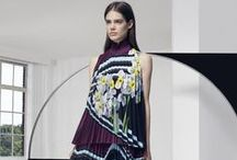 Resort 2016 / For Resort 2016, Mary Katrantzou explores the merging of the two paradigms. Embracing a fascination with the autonomous qualities of pure form and colour, this pursuit of optical phenomena is juxtaposed with traditional botanical illustrations from 18th century studies of plant morphology, herbals and pharmacopeia.