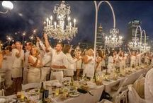 Around the world in 2015 / All the Diner en Blanc events celebrated in 2015