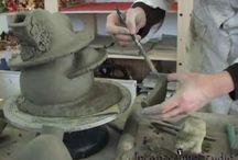 video casetta delle Fate Funghouse / Video,argilla,pottery,clay,ceramica ,casetta,fate