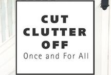 GOOD MOVE: CLUTTER FREE / Tips for getting rid of clutter. Make it a #GoodMove. #relocation #moving #realestate #clutterfree