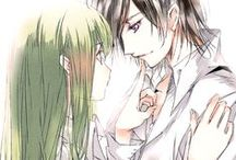 Code Geass / Lelouch  and CC