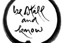mindfulness / by jan melick weintraub