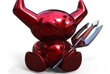 devilz / Our Devilz line of salt and pepper shakers