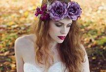 Torias purple winter wedding