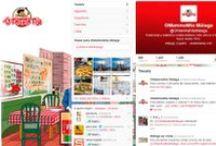 Páginas de Twitter / Páginas de Twitter creadas por nuestros Community Managers.