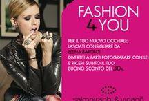 """""""Fashion 4 You"""" - Elena Barolo  @ Salmoiraghi & Viganò stores / Voglia di shopping? Elena Barolo, ospite dei nostri store per consigliarti il modello di occhiale giusto per te!"""