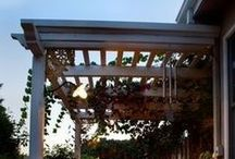 Covered terrace / Pergola / Patio / - Cozy outdoor living -