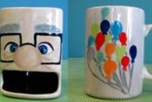 Mugs, glasses, and tea cups - inspired by others / by Clayfish Bisque