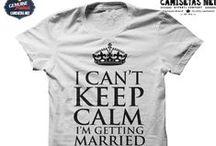 Camisetas Casamento / Camisetas divertidas de casamento para noivos e recem casados. Conheça nossa variedade de camisetas para noivos muito divertidas. #camisetanova #camisetanoivos #camisetasnet
