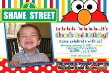 Shane's Sesame Street Party / I threw a Sesame Street 2nd birthday party for my son. I really enjoyed incorporating many of the pins I found on pinterest and came up with some new ones of my own!  / by Laura Bauer