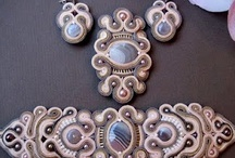 soutache bead embroidery.