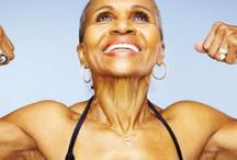 My Ernest Respect!!! / GrandMa Ernestine Shepherd  - Guinness Book of Records Body builder at 74...wow!!! / by Deelicious 2008