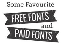 Fonts & Typography / Fonts & Typography, Logos,  Lettering and some Graphic Design