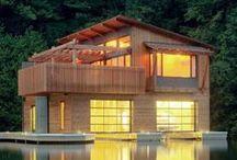 Boat Houses I Peterssen/Keller Architecture