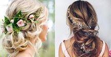 Hochzeit / Kleider - Frisuren - Inspiration