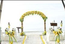 Colour schemes ~ www.weddingsinthailand.com / Personalise your wedding