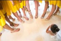 Brighten the Day in Yellow - Wedding colour schemes - www.weddingsinthailand.com / Don't rely on the weather...bring your own sunshine!
