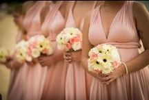 Picturesque in Pink - Wedding colour schemes - www.weddingsinthailand.com / Blushing brides with cherry, rose, cerise, fuchsia