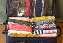 Empacar maleta y costura