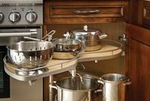 Kitchen Storage & Hide-Away Inspiration from K&N Sales / The unique and stylish ways of storing your Kitchen necessities.
