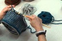 Uncinetto tunisino-Tunisian crochet
