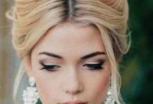 winter wedding hair style
