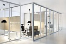 Partition Walls / glass and aluminium walls