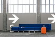 WAITING / Waiting can be long and boring but it can also be short, pleasant and comfortable. Behind the Attesa collection there is not only comfort but also research and adaptability, thanks to a wide choice of shapes, structures, upholstery and colours. Meticulous design and a desire to make chairs fit into surroundings, make this collection adaptable for the Contract sector, for large spaces including hotel foyers or small ones such as waiting rooms.