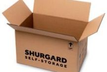 Our moving boxes & storage supplies / At Shurgard, we also offer you all the moving boxes and packing material you need. More info on http://www.shurgard.co.uk/moving-boxes