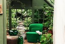 Gewächshäuser / Greenhouses / in love with greenhouses