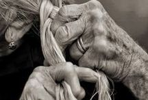 Hands creating beauty / how hands create beauty in this world