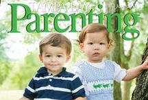 Magazine covers / Tampa Bay Parenting Magazine covers
