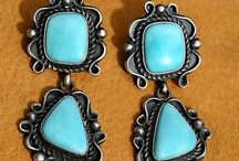 Native American Turquoise Earrings