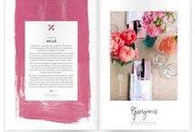 { magazine layouts  } / ideas for creating magazine style layouts