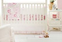 Pink Baby Bedding & Nursery Inspiration / Pretty in pink is the essence for your baby girl's nursery! Pink baby bedding is the perfect addition to any dream nursery for your little gal!  From glamorous patterns of damask and floral prints, to fun and unique Aztec and tribal prints, we have a wide assortment baby bedding that will help you create you're an amazing baby girl's nursery!   http://www.newarrivalsinc.com/Pink-Baby-Bedding_c_553.html