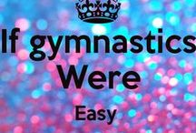 Gymnastics / Anything gym-related: hair, leos, choreography, etc.