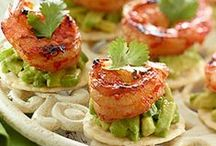Appetizers with Avocado