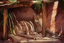 WildLife, QuietLife and Country Critters / Loving animals ... and a peaceful life. #Animalpaintings    / by Patti Parrish Paintings of the Southwest