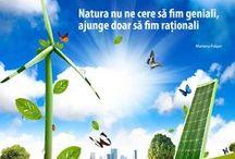 Suntem ECO! / Afla cum sa reduci consumul de energie, apa si emisiile de CO2!