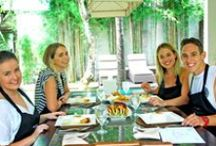 Big Brother Australia - Cooking Class / Tully Smyth, Lisa Clark, Jake Rich and Genevieve Day have discovered the secrets of Balinese traditional dish with our Chefs.